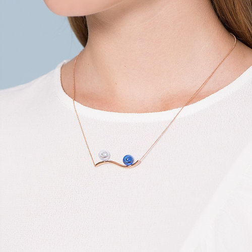 La Jewelry-Rhythm of the Sea Necklace