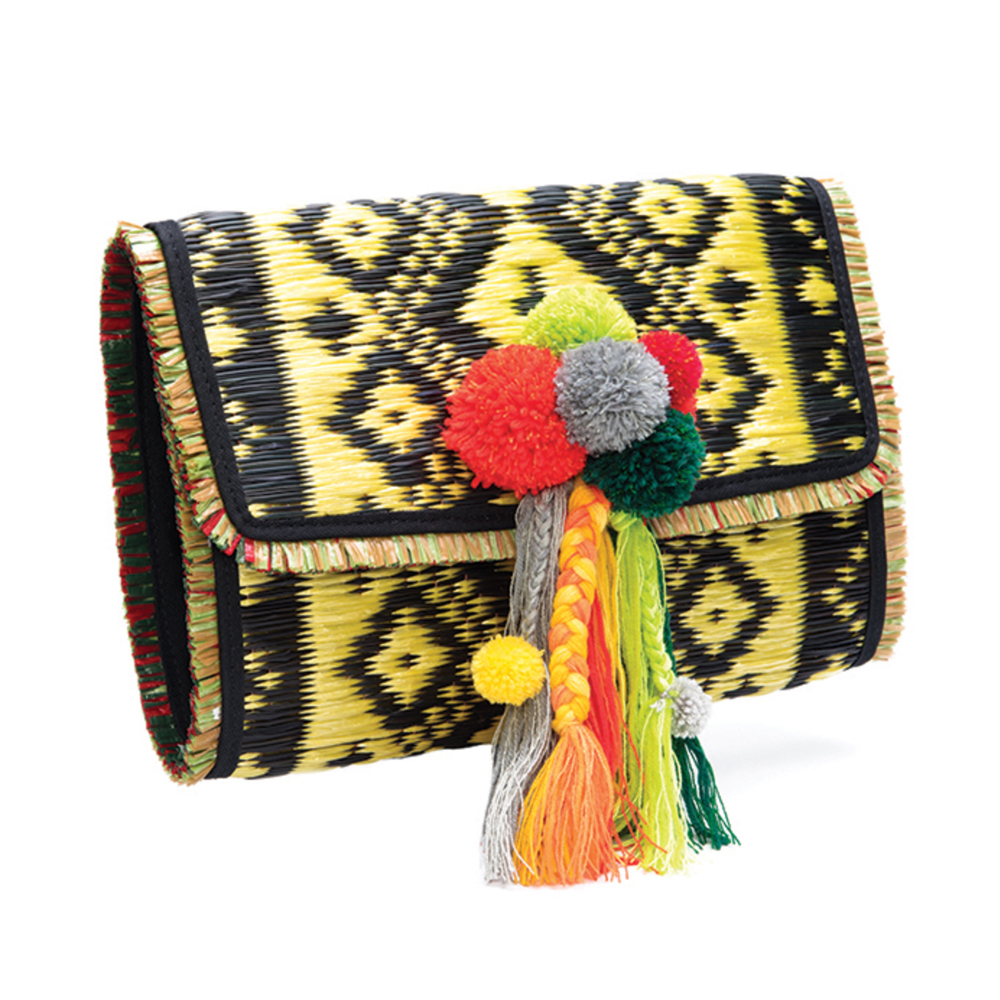 Rasika Yellow Clutch by MookV