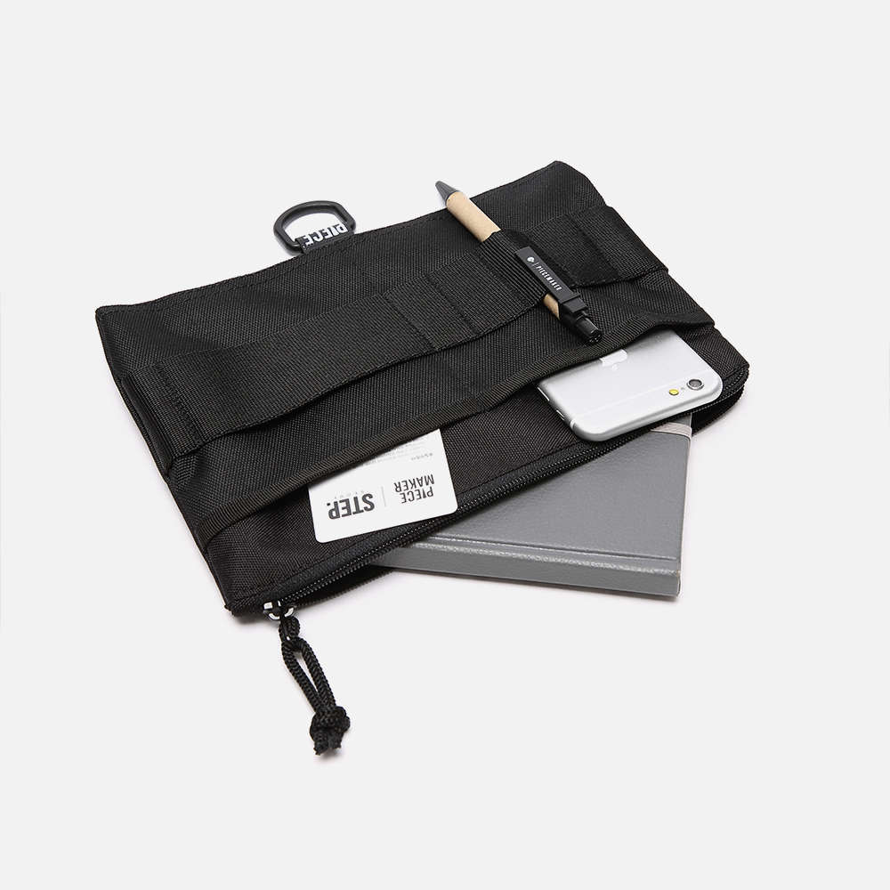 PIECEMAKER Technical Pouch - Black