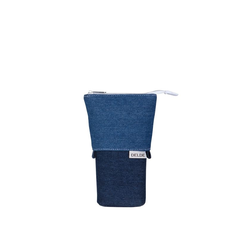 Delde-Slide Pouch Denim Blue