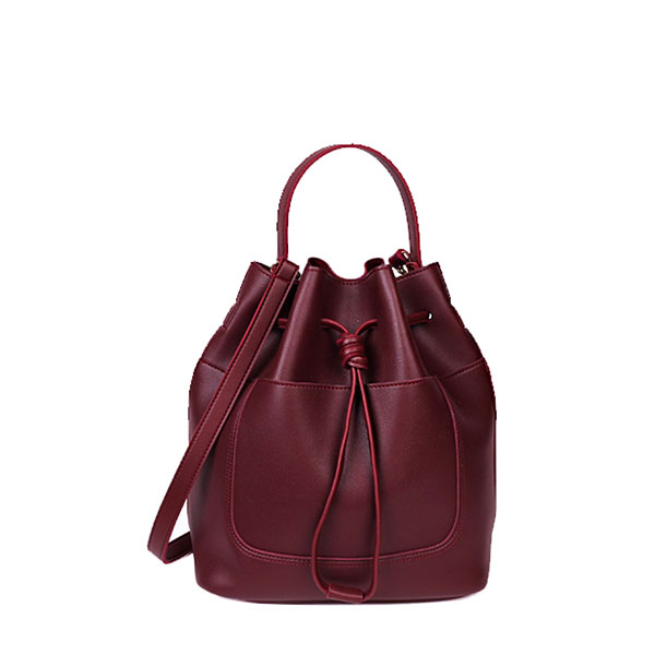 EMP.T Label-Maxi Bucket Burgundy