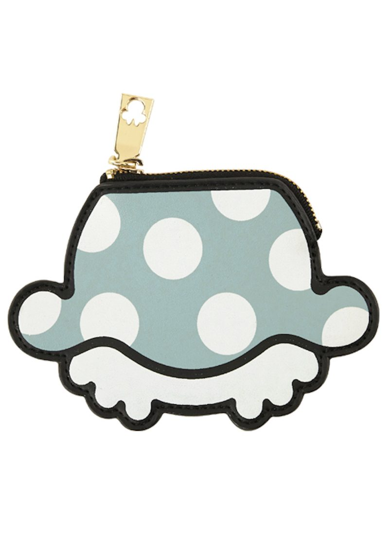 GRACE GIFT Minnie Mouse Polka Dot Skirt Coin Pouch-1