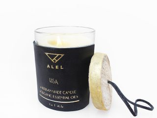 Soy Candle With Bergamot Essential Oil