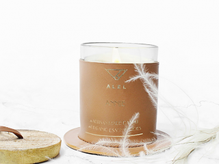 Cinnamon Minimalist Soy Candle With Essential Oils