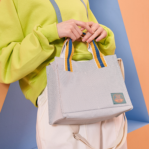 Mery Cross Bag - Gray
