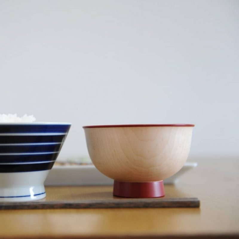 Iroha Colorful Bowl - Red