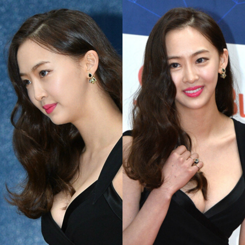 Princess B. Earrings - Black - DaSom