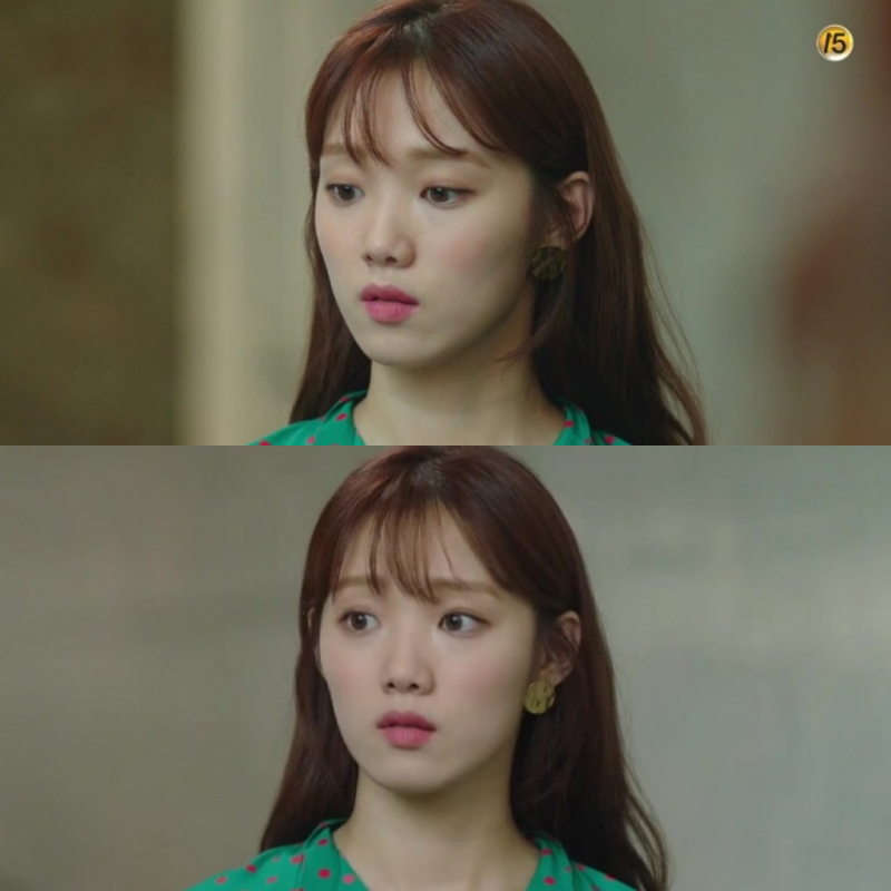 Hammer Fiqure Earrings - Lee Sung Kyung