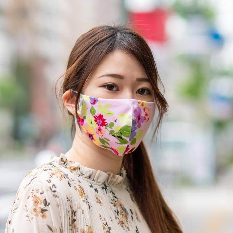 Headloop Cool Touch Fabric Mask - Spring