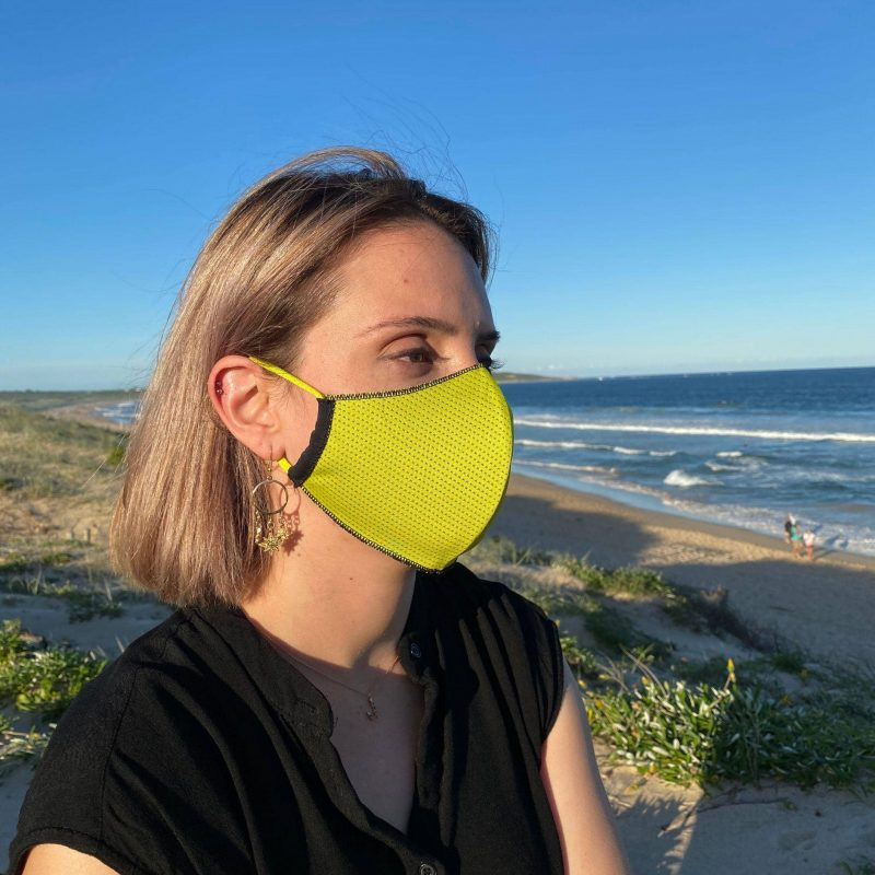 The Mask Life - Reversible Mask Yellow / Black