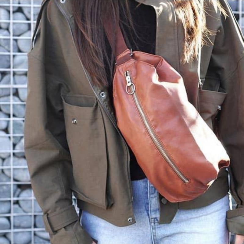 A3.6 Sling Bag - Red Brown