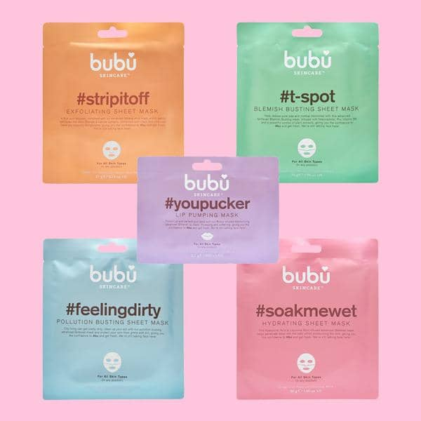 Ultimate Bubu Sheet Mask Pack