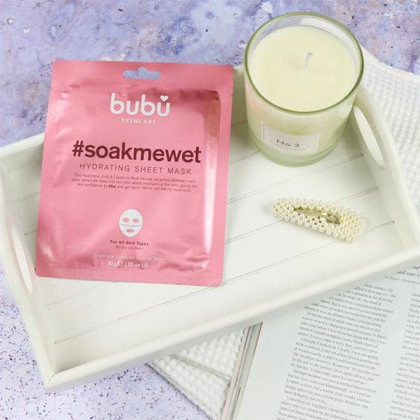 #Soakmewet Hydrating Sparkling Sheet Mask