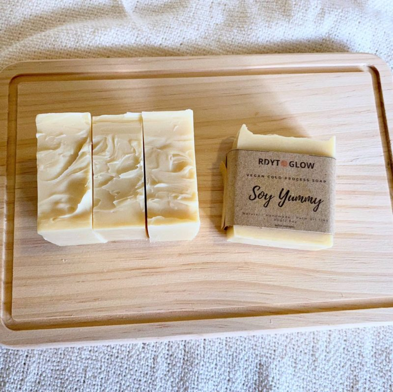 Soy Yummy Vegan Soap (Unscented)