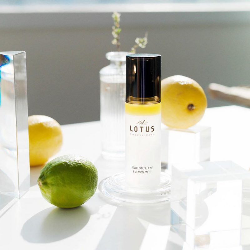 Jeju Lotus Leaf & Lemon Mist