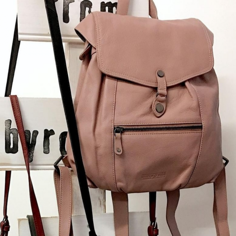 Willow Backpack - Dusty Rose