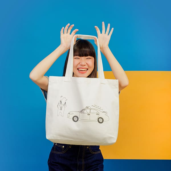 Changeable Color Tote Bag - What Color's This Taxi?